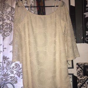 Dresses & Skirts - Off the shoulder lace dress